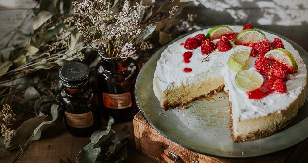 recette chessecake sans gluten newyorkais citron framboise photographe culinaire